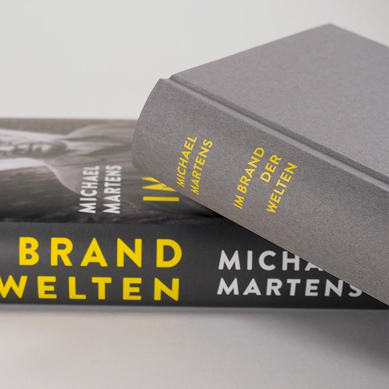 Buchcover Michael Martens: Im Brand der Welten