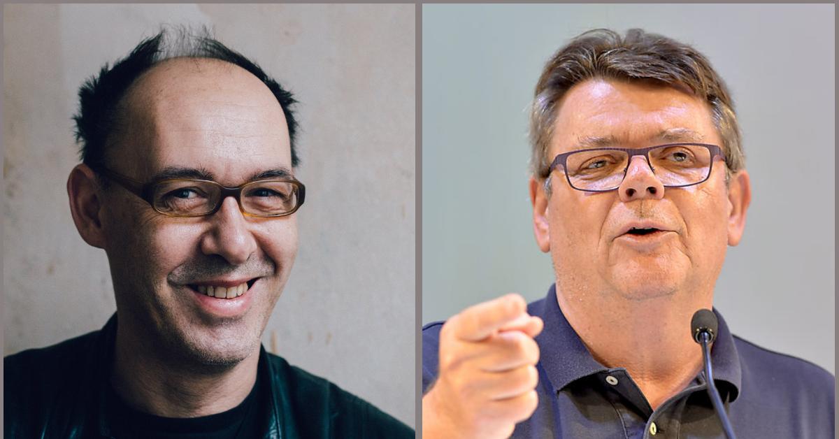 Robert Misik und Wolfgang Katzian