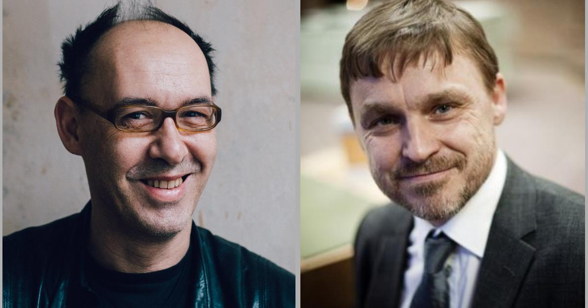 Robert Misik und Joakim Palme