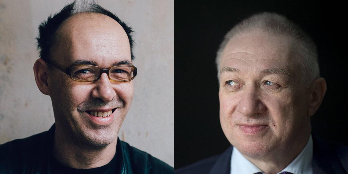 Robert Misik und Gustav Horn
