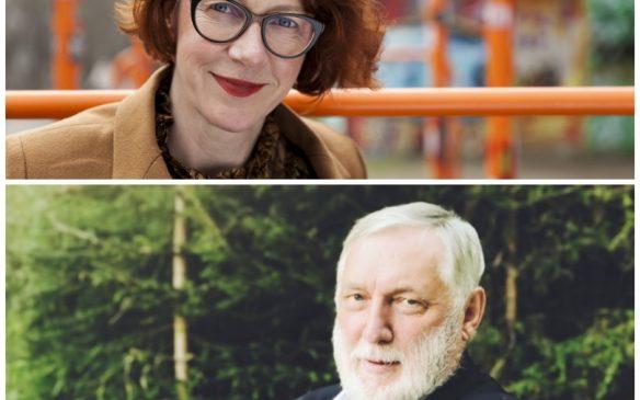 Ulrike Guérot und Franz Fischler