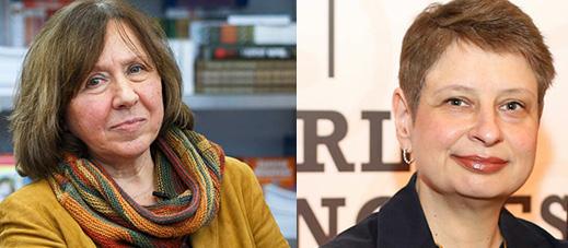 Svetlana Alexievich und Nina Khrushcheva