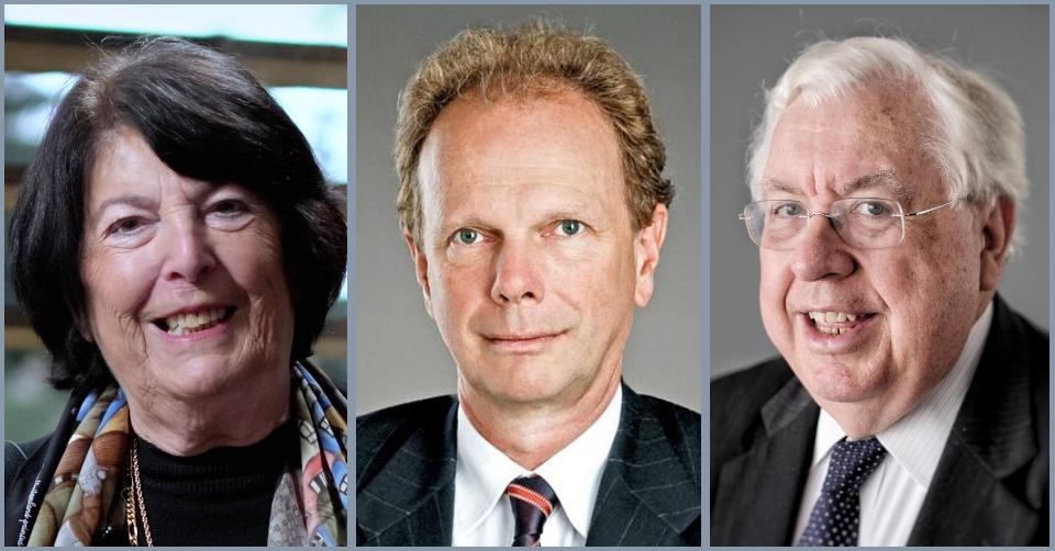 Eva Nowotny, Raimund Löw, John Kornblum